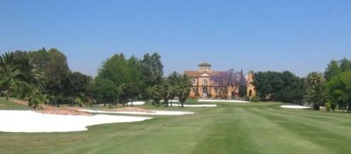 Gualdalhorce Golf Course Andalusie Spanje<br />