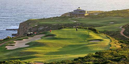 Pinnacle Point Golfbaan Zuid-Afrika