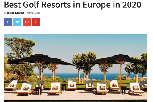 Leading Courses beste Europese golfressorts